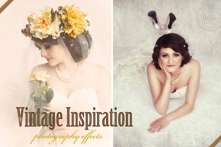 Vintage Effects: Retro Wedding Photography Inspiration