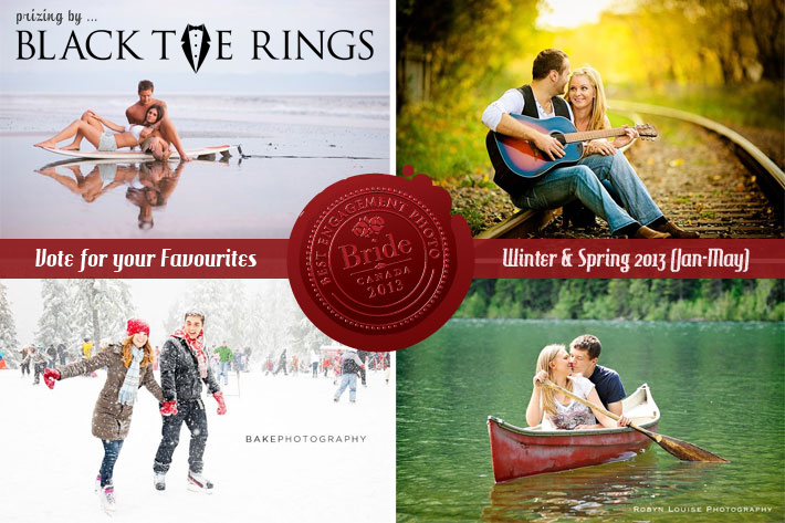 Best Engagement photographs is Canada, Winter & Spring 2013