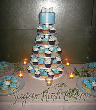 replacing your wedding cake with a cupcake tower