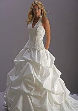 Morilee halter bridal gown 2808
