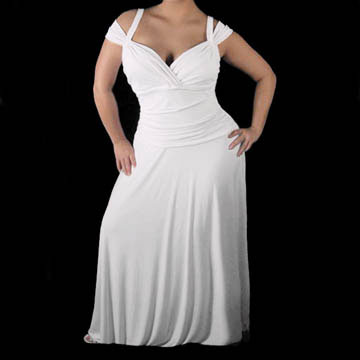 plus size wedding dress with sleeves. Ivana wedding dress