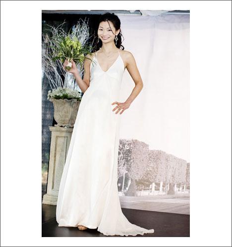 Caroline Calvert bridal gown: Chloe