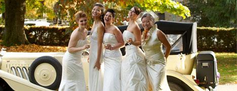 Caroline Calvert's bridal fashion