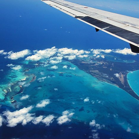 Flying to the Bahamas on your Honeymoon