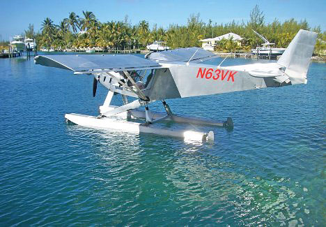Honeymoon Travel in the Bahamas: Light Planes