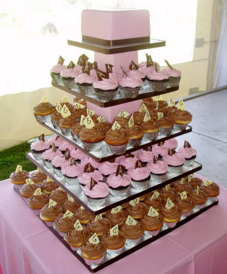 Cupcake Cake Ideas: Wedding Cupcakes 101: Cupcake Wedding Cake Ideas