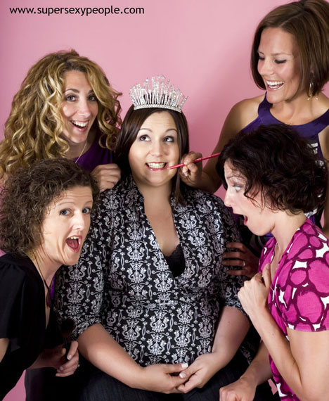 Bachelorette Party Photo Shoot