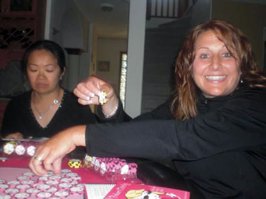 HAppy poker night bachelorette party idea