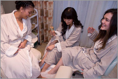 Move your stagette to a spa retreat
