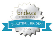 Beautiful canadian brides award