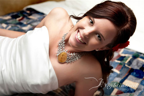 Beautiful bride: Stephanie in Toronto (2009)