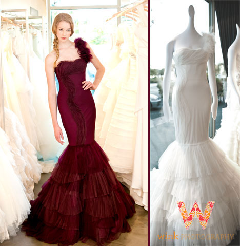 Kaye - Vera Wang Spring 2013 wedding collection