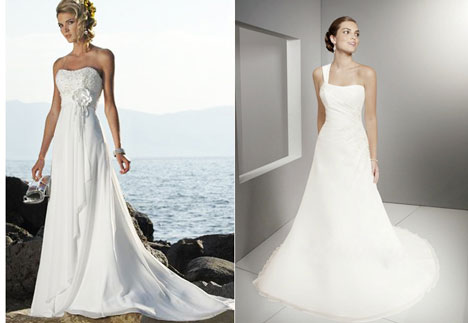 2011 wedding dresses, Tahiti & Lara