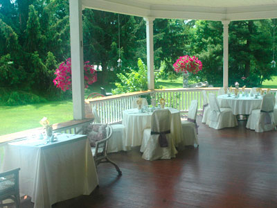 Perfect bridal shower location