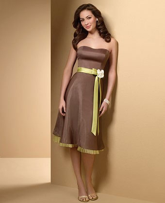 Yellow And Brown Bridesmaid Dresses 109
