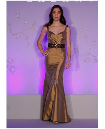 Lazaro bridesmaids dress for 2011. Style #3084