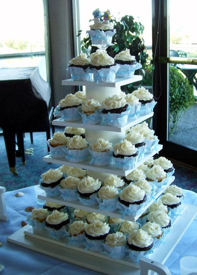 Bride Ca Wedding Cupcakes 101 Cupcake Wedding Cake Ideas
