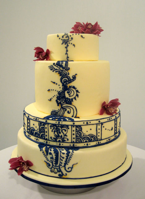Tartlets award winning wedding cake design