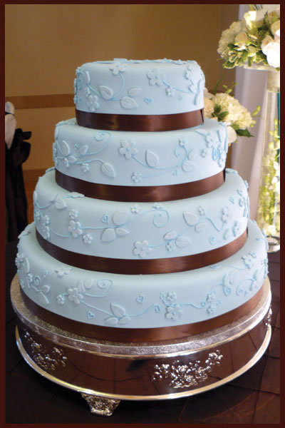 Blue Round Cake Sweet Thea Story by Kori Ellis