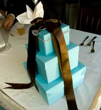 Wedding Gift Box Centerpieces : Larger boxes can be used alone on a table. Just decorate them enough ...