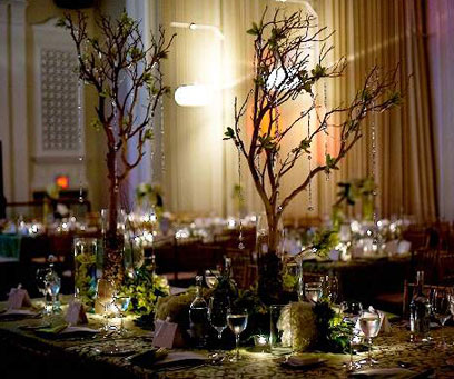 bride.ca | Wedding Decor: Great Table Themes and Centerpieces