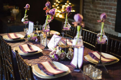 wedding table by Principal Planner wedding consultants in Montreal