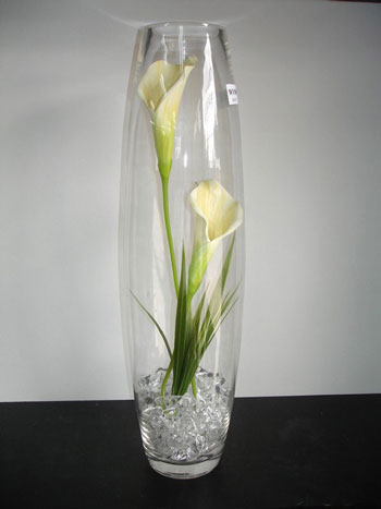 Tall glass vases wedding vases sale - Vase de decoration interieur ...