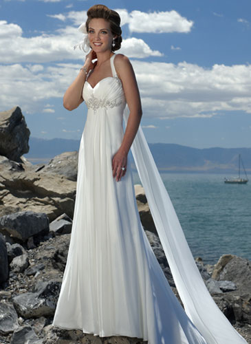 bride.ca | Best Beach Wedding Dresses in Canada, 2010