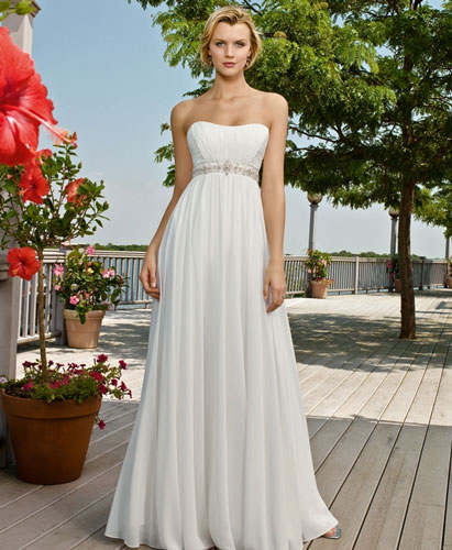 Best Beach Wedding Dresses In Canada, 2010