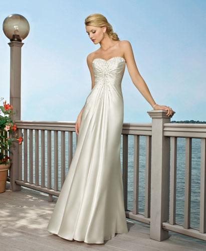 Ideas For Beach Wedding Dresses: Best Beach Wedding Dresses In Canada, 2010