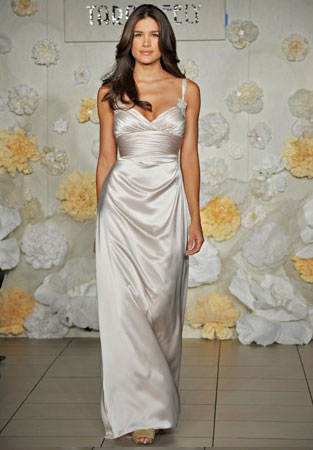 Tara Keely beach wedding gown