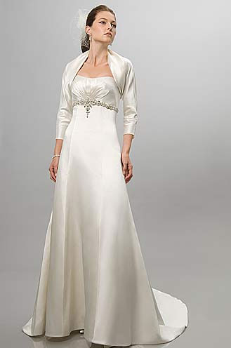 Simple Wedding Dresses in Canada, 2010: Alfred Sung