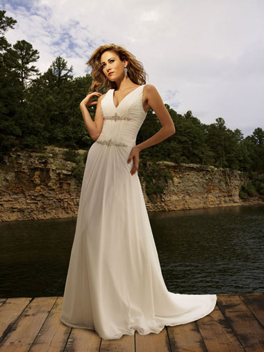 Modern Romance Wedding Dress : Simple wedding dresses in canada allure bridals