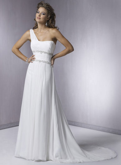 Simple Wedding Dresses in Canada, 2010: Maggie Sottero, Astrid