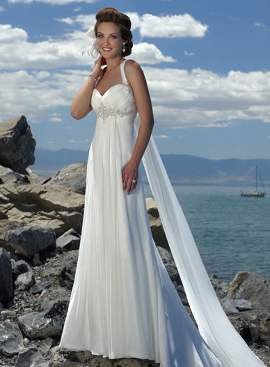Simple Wedding Dresses in Canada, 2010: MAggie Sottero, Destinations