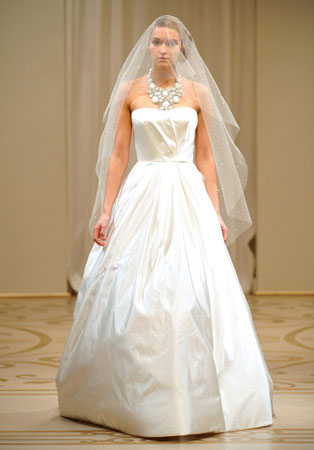Simple Wedding Dresses in Canada 2010 Reem Acra