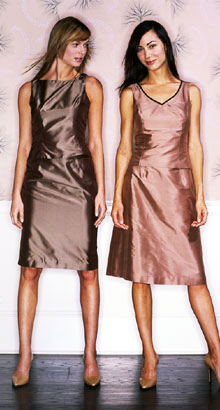 Bridesmaid Dress Designers on Simple Silhouettes Bridesmaids Dresses  Frocks Modern Bridesmaids