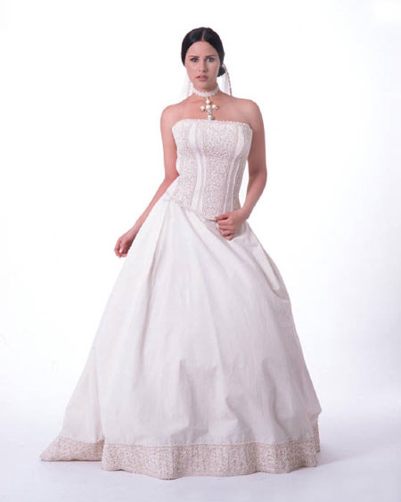 Image of Beauty: Mediterranean collection, two-piece wedding gown #3
