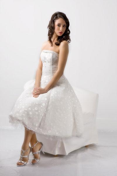 Garden wedding dress, 2010