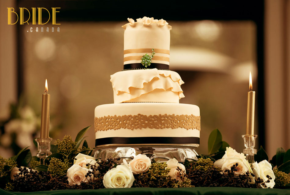 1920s Wedding Cake By Aeyra Cakes In Vancouver