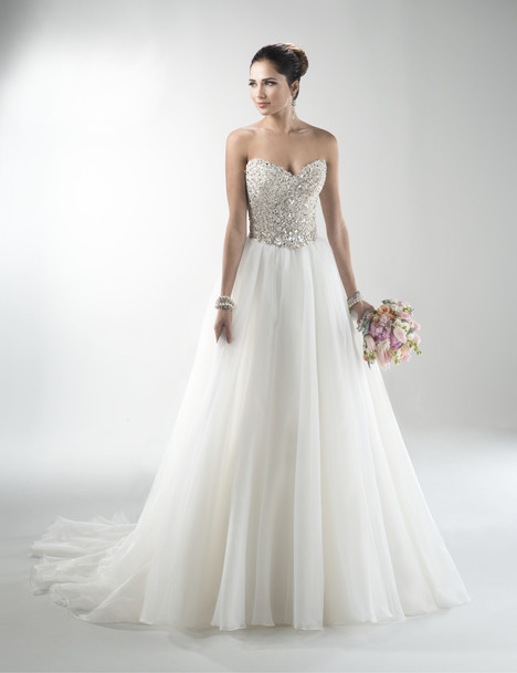 ballgown wedding dress esme marie by maggie sottero