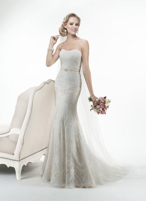 Trumpet wedding dress style Abigail by Maggie Sottero
