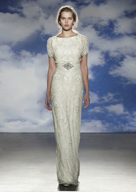 Sheath wedding dress style Harlow by Jenny Packham