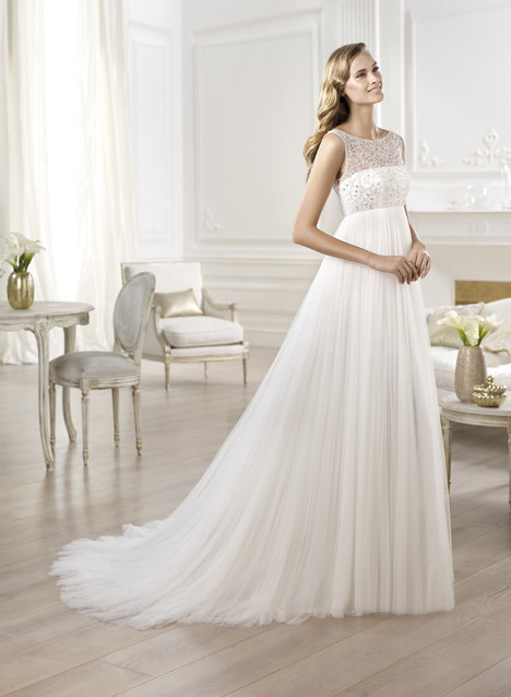 Empire wedding dress style Ores by Pronovias