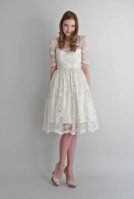 Cocktail Length Wedding Dresses - Formal Dresses