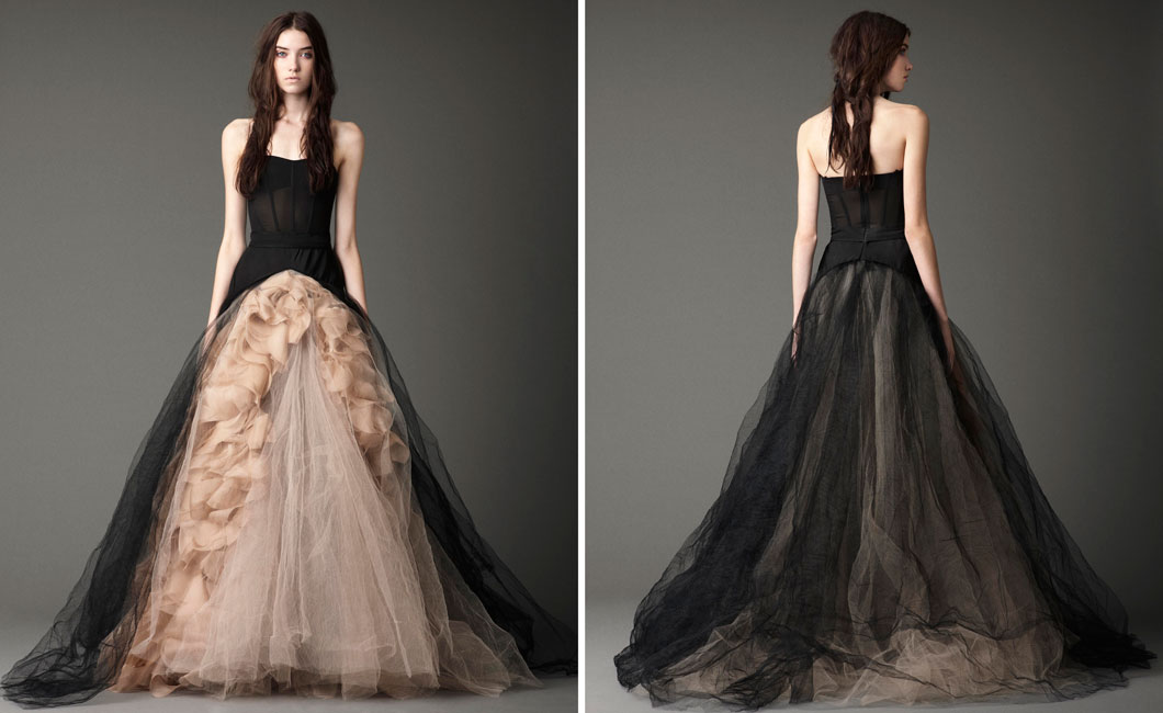 Black Wedding Gowns: Vera Wang Fall 2012 : The Black Magic Collection