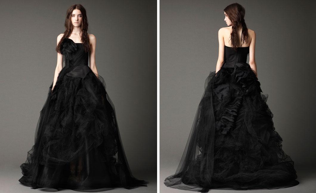 bride.ca | Vera Wang Fall 2012 : The Black Magic Collection