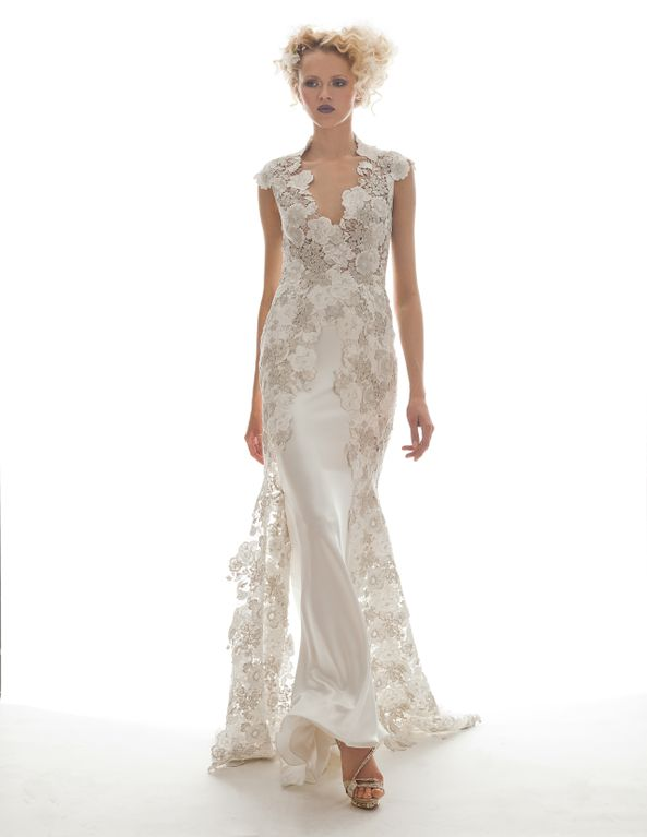 Arabelle wedding gown from Elizabeth Fillmore 2013