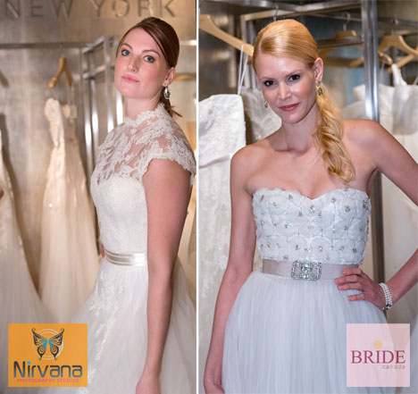 Reem Acra 2013 wedding dresses at Blush Bridal in West Vancouver