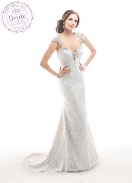 Affordable bridal fashion by Maggie Sottero : Brandy, 2014 Fall wedding dress